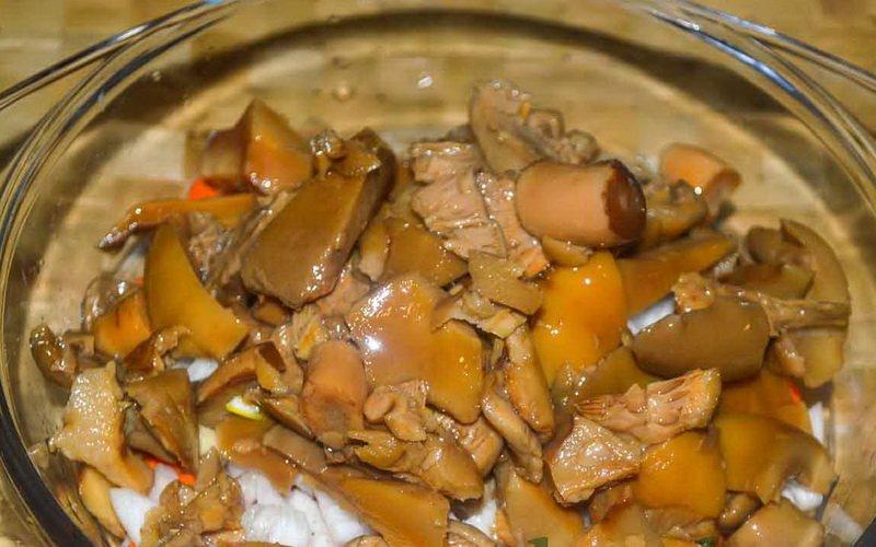 Соленые грибы: простые рецепты приготовления фото