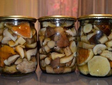 Крышкой закрывать маринованные грибы #10