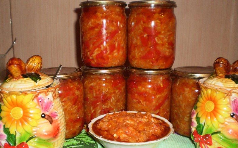 Самые вкусные салаты из консервированных овощей на зиму