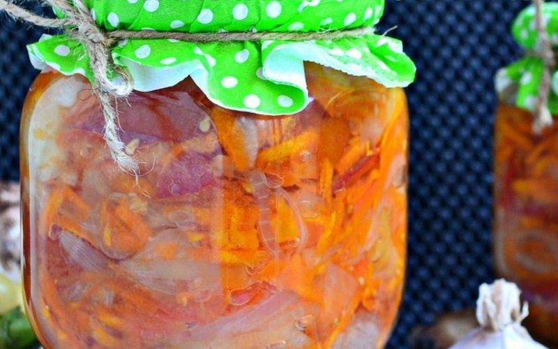 Домашние рецепты консервированных овощных салатов