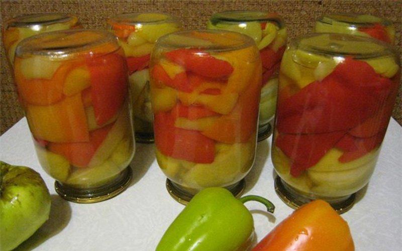 болгарский перец дольками на зиму рецепты приготовления