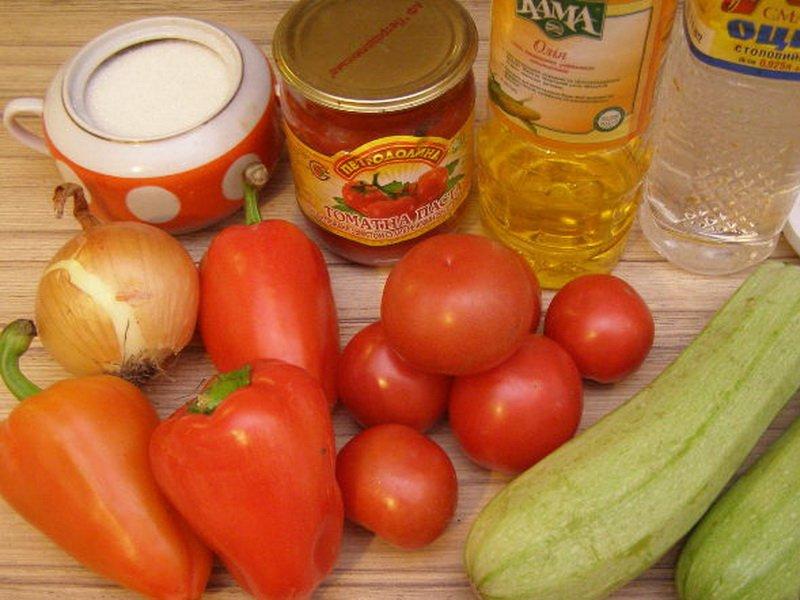 Рецепт лечо с кабачками на зиму с фото