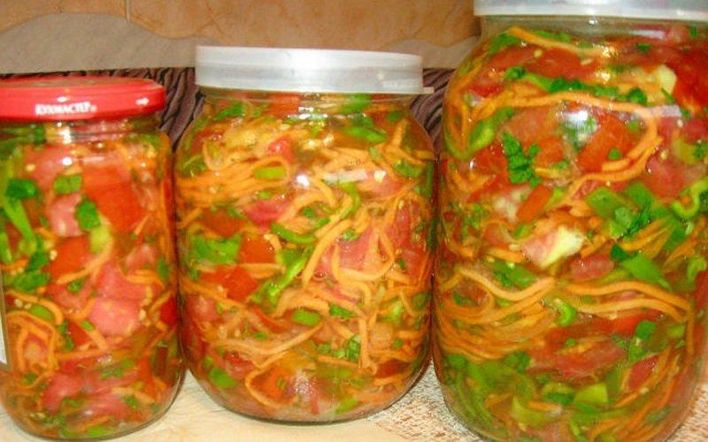 Как приготовить домашние овощные полуфабрикаты