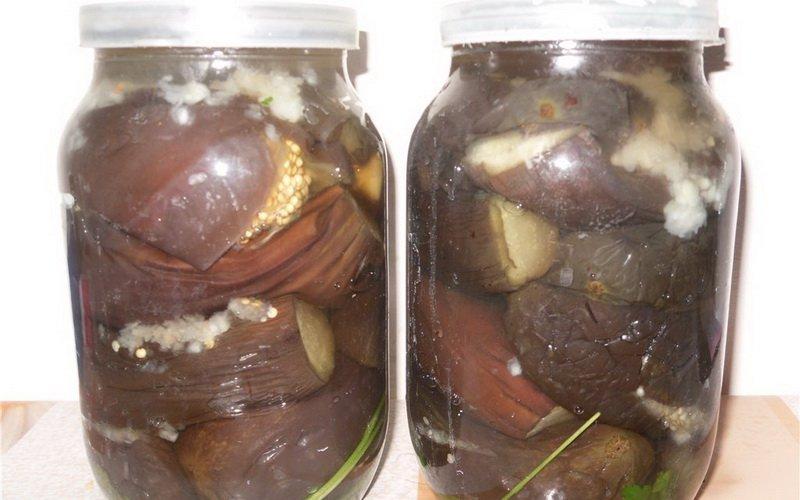 Домашние рецепты соленых баклажанов на зиму