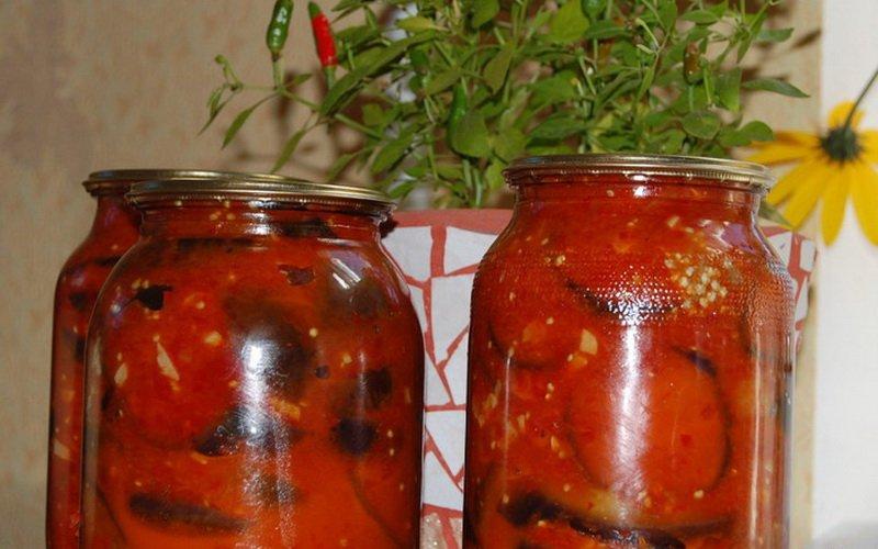 Рецепты и фото простых домашних заготовок из баклажанов на зиму фото