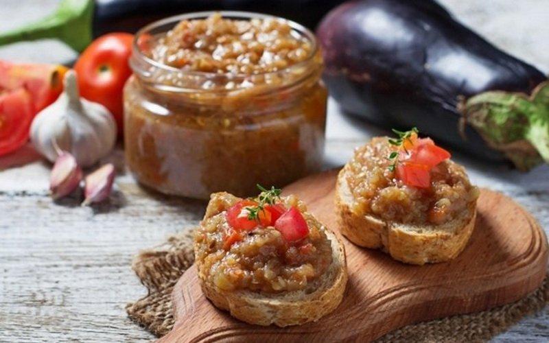 Рецепты вкусной баклажанной икры на зиму