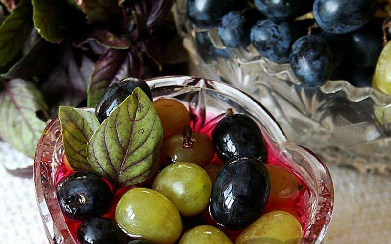 Как ещё можно замочить виноград фото