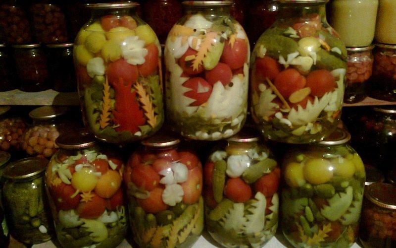 Маринуем ассорти из овощей на зиму