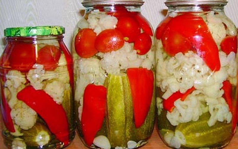Домашние рецепты консервирования овощей на зиму фото