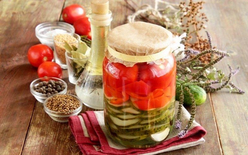 Консервация овощей на зиму: рецепты с фото фото