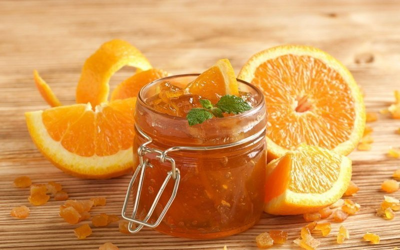 Варенье из апельсинов.