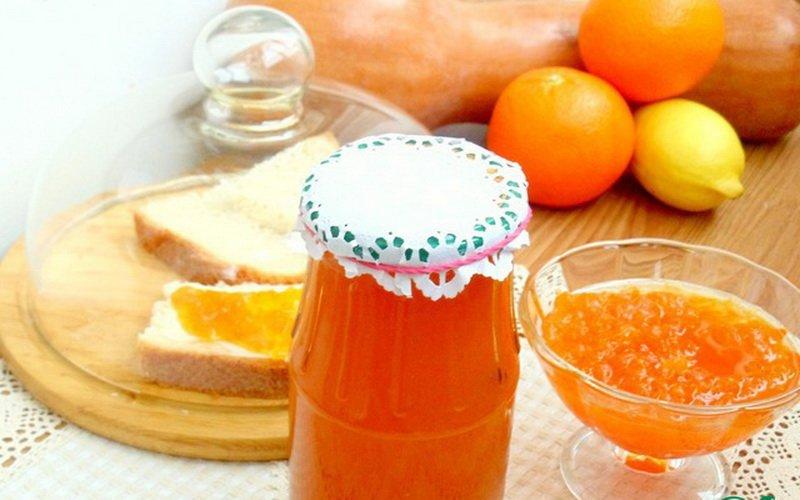 Варенье из тыквы с лимоном.