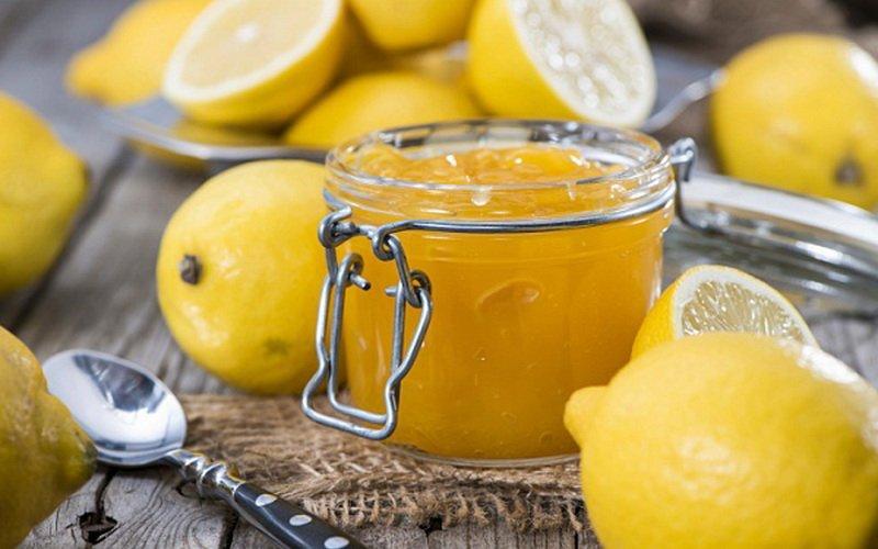 Лимонно-кофейный джем.