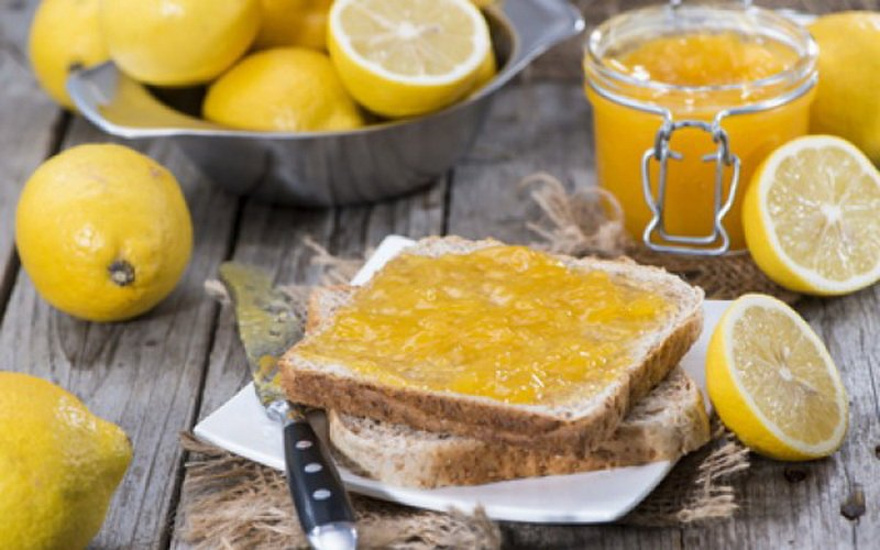Лимонный джем.