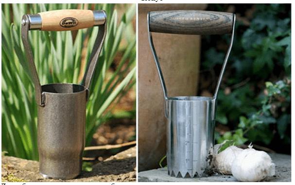 Труба для посадки чеснока
