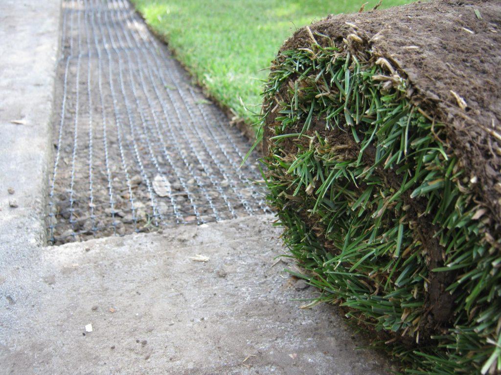 сетка под газонной травой