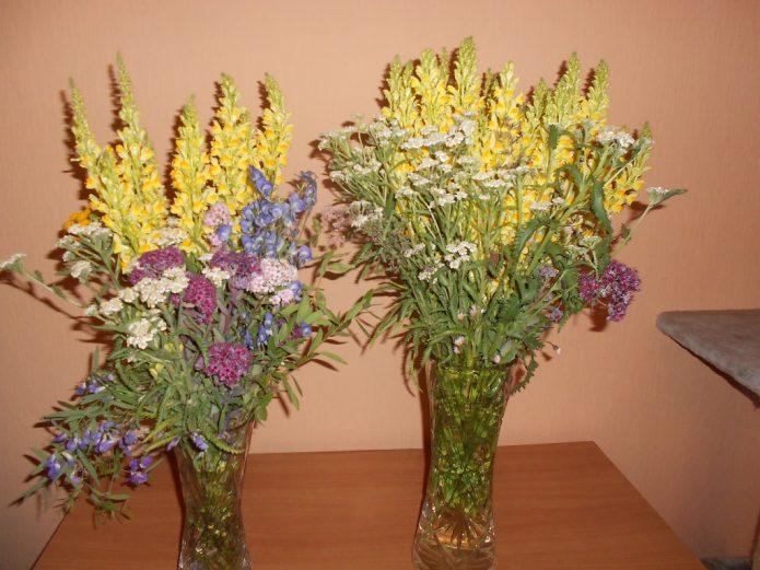 Цветочные букеты своими рукакми