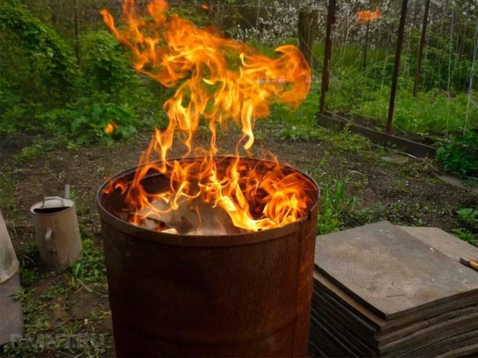 Безопасный способ сжигания мусора