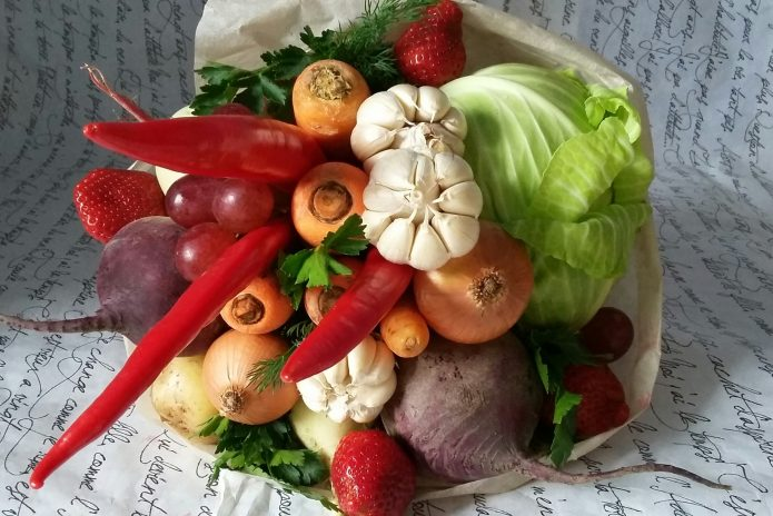 Овощный букет