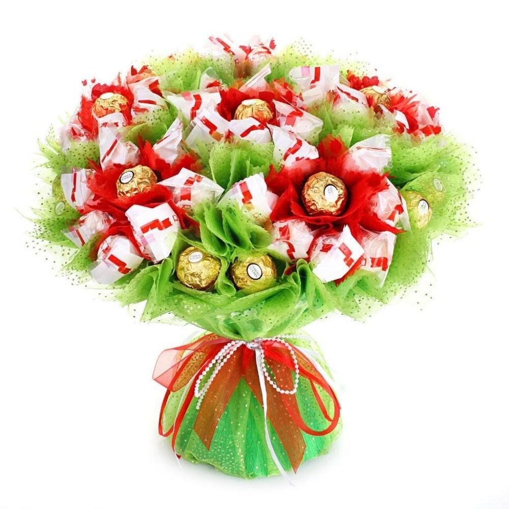 Цветы букетов, подарок на день рождения букетики