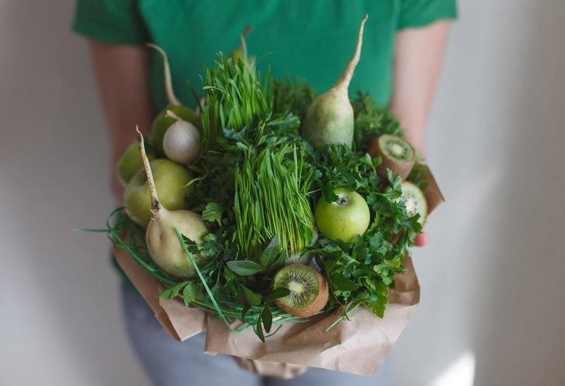 Лучший подарок для вегетарианца: букет из овощей своими руками