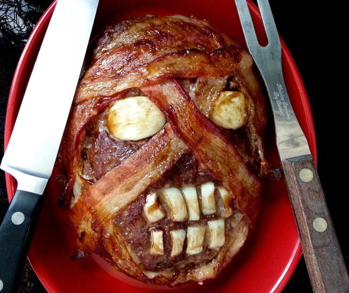 Мясное блюдо «Голова мумии»