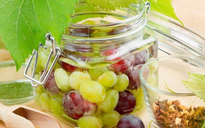 Виноград без стерилизации