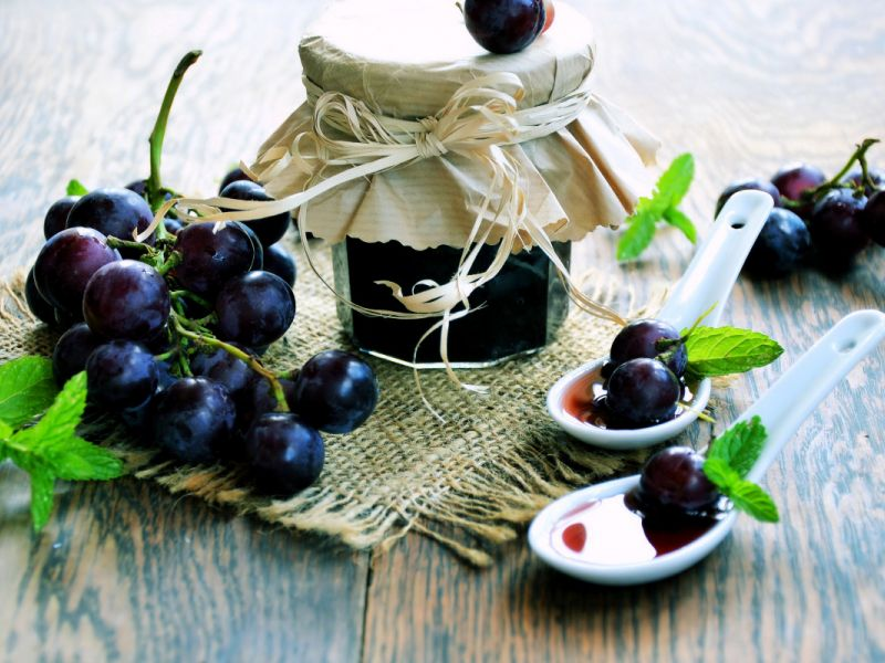 Варенье из винограда без косточек кишмиш