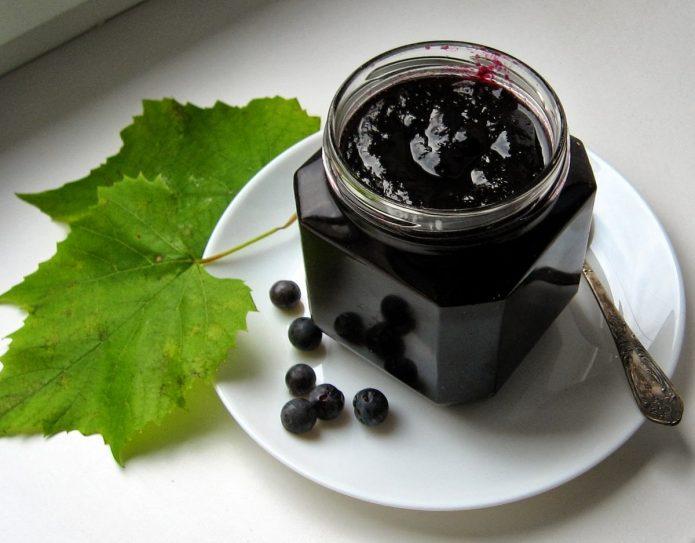 Варенье из чёрного винограда