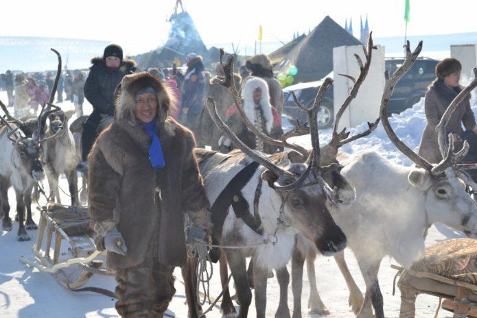 Якутские оленеводы