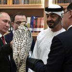 Путин подарил наследному принцу Абу-Даби белого кречета