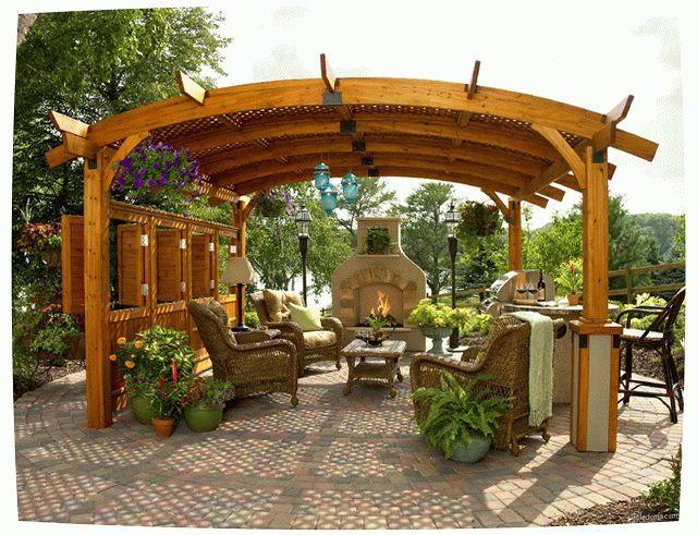 Террасы сада