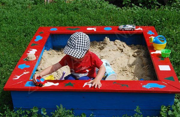 песочницы своими руками с крышей фото