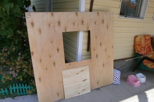 Строим детский игровой домик своими руками - Бабушкина дача