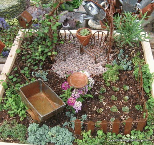 Как сделать сад коллекция 212
